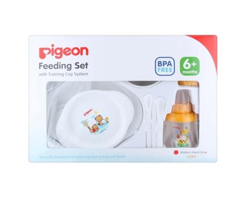 Hadiah untuk Bayi Pigeon Feeding Set with Training Cup