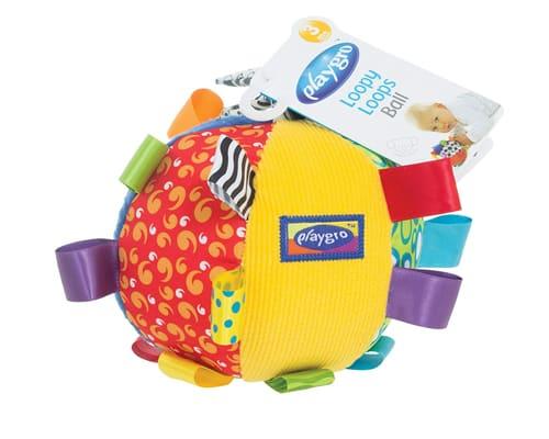 Mainan Edukasi Anak Umur 0 - 1 tahun PlayGro Loopy Loops Ball