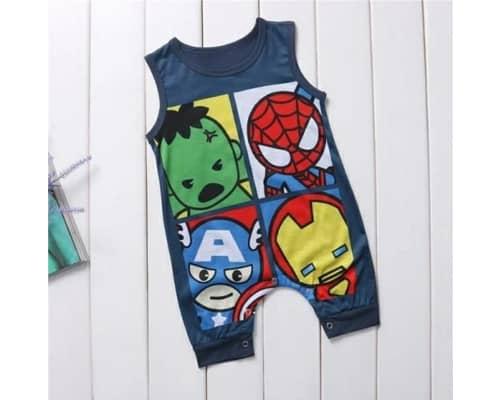 Romper Bayi Terbaik Romper Baby Avengers