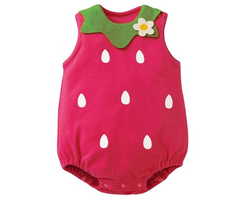 Romper Baby Strawberry