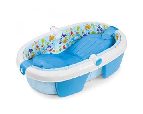 Bak Mandi Bayi Lipat Summer Infant Fold Up Bath Babys Aquarium