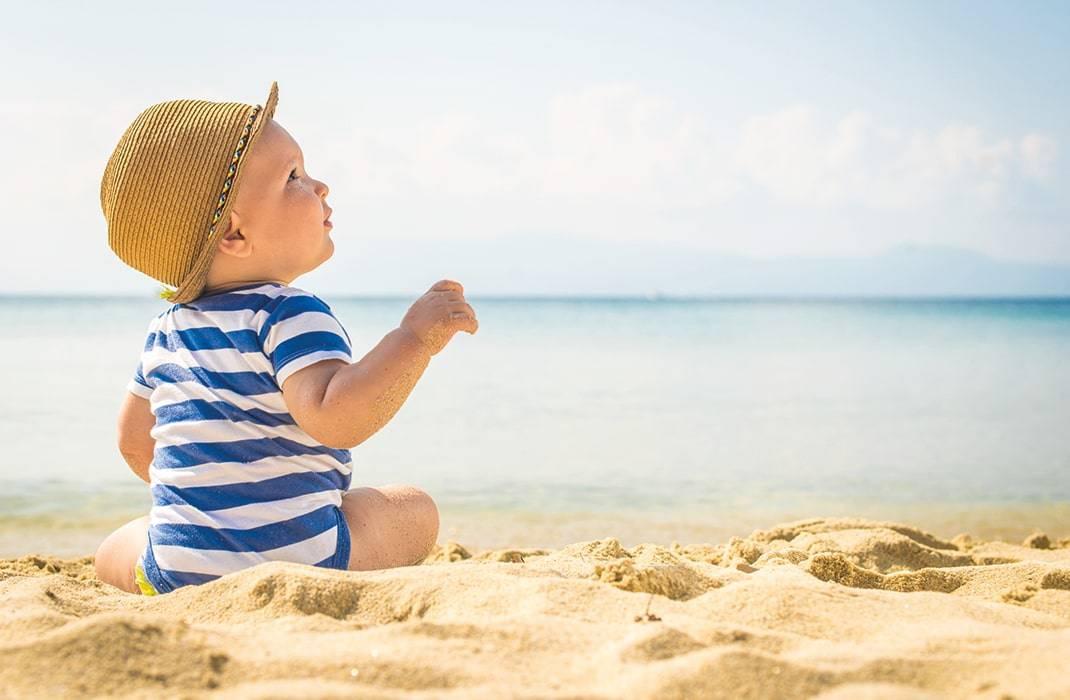 Gambar Ilustrasi sunblock untuk bayi bagus murah terbaik aman