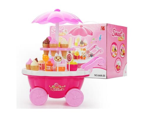 Mainan Edukasi Sweet Shop Luxury Candy Cart