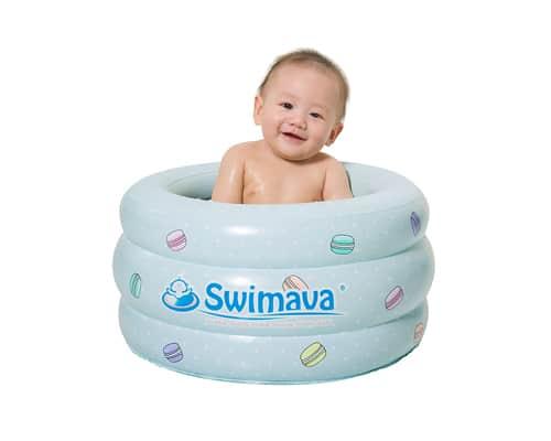 Bak Mandi Bayi Lipat Swimava Baby Bathing Tub P3 Swimava Le Macarone Baby Spa