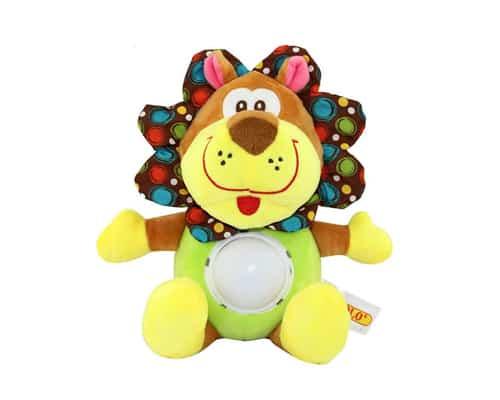 Mainan Edukasi Anak 0 sampai 1 Tahun Tololo Musical & Lighting Activity Plush Toy – Lion