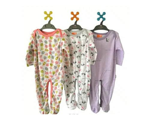 Hadiah untuk Bayi Velvet Junior Dreamwear Sleepsuit