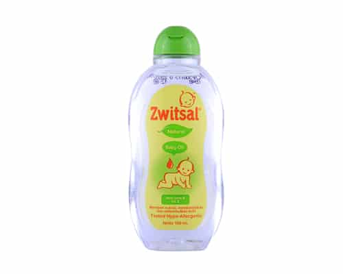 Baby Oil Terbaik Zwitsal Natural Baby Oil with Aloe Vera and Vit E