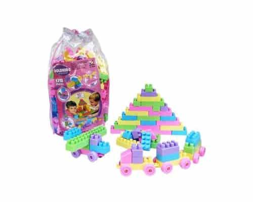 Mainan Edukasi untuk Anak Usia 2 - 3 Tahun Goldkids Building Blocks