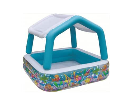Kolam Renang Portable Anak Plastik Intex Sun Shade Pool