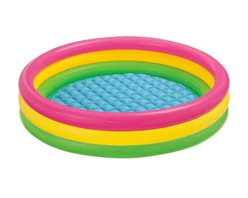 Kolam Renang Anak Portable Terbaik Intex Sunset Glow Baby Pool 58924
