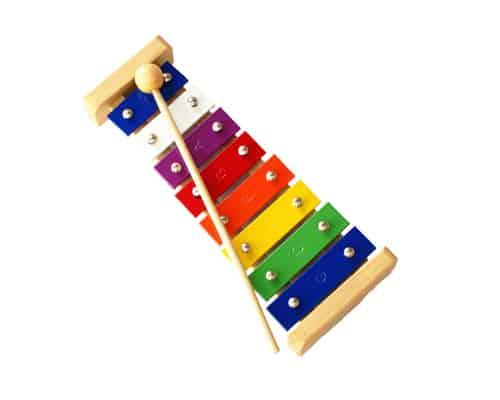 Mainan Edukasi untuk Anak Usia 2 - 3 Tahun Mainan Edukatif Kulintang 8 Tangga Nada