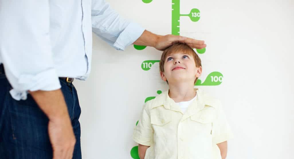 Alat Pengukur Tinggi Badan untuk Anak