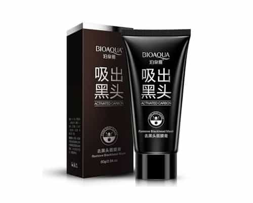 Gambar Pengangkat Komedo Bioaqua Activated Carbon Remove Blackhead Mask