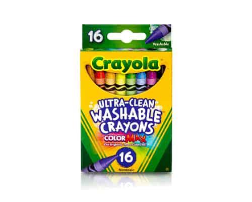 Gambar Crayon Crayola Ultra-Clean Washable Crayons 16 Count