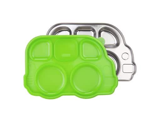 Gambar Tempat Makan untuk Anak Din Din Smart Stainless Divided Platter
