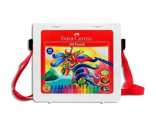 Gambar Crayon Mewarnai Faber Castell Hexagonal Oil Pastel 60 Pcs