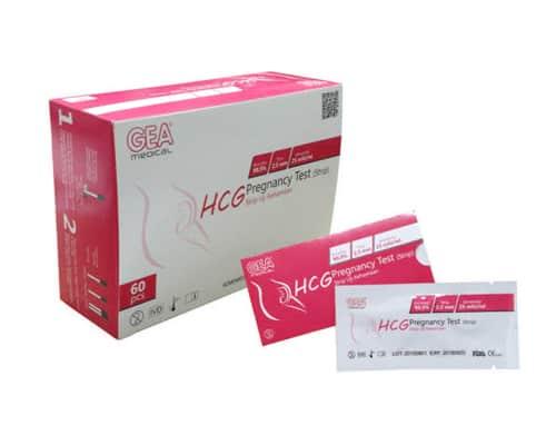 Alat Tes Kehamilan Terbaik Test Pack Gea Medical HCG Pregnancy Test Strip