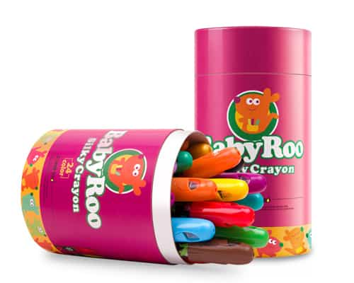 Gambar Crayon Mewarnai Joan Miro Baby Roo-Silky Crayon
