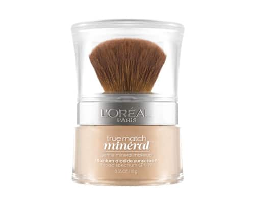 Foundation untuk Kulit Berminyak - Loreal True Match Mineral Powder Foundation