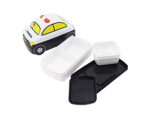 Gambar Tempat Makan Anak Lunch Box Tomica Patrol Car 3D
