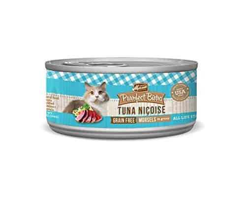 Gambar Makanan Kucing Merrick Purrfect Bistro Grain Free Morsels Tuna Nicoise