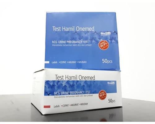 Alat Tes Kehamilan Terbaik OneMed hCG Urine Pregnancy Test