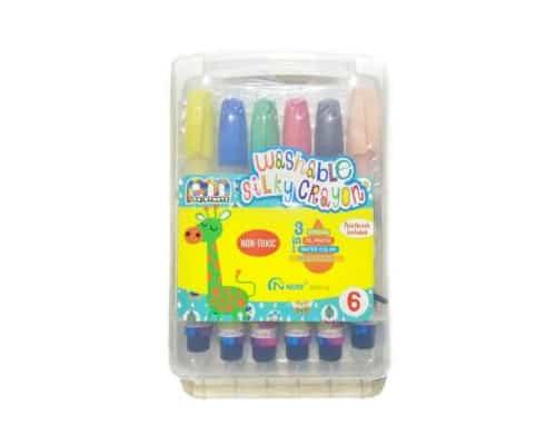 Gambar Crayon Mewarnai Paintmate Washable Silky Crayon 4112SPP