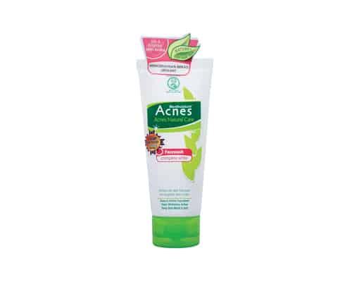 Gambar Rohto Acnes Natural Care Facewash Complete White