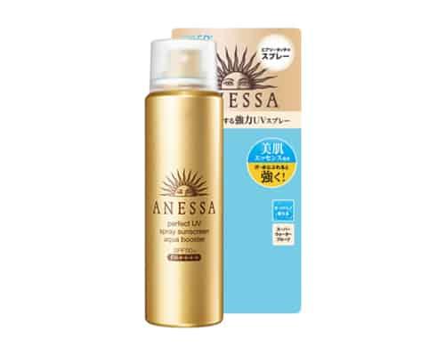 Gambar Sunblock Terbaik untuk Kulit Shiseido Anessa Perfect UV Spray Sunscreen Aqua Booster