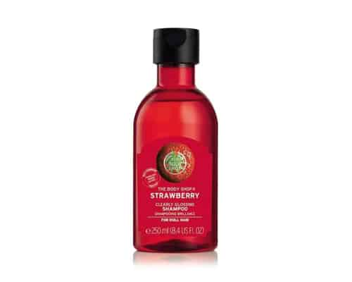 Gambar Shampo Anak The Body Shop Strawberry Clearly Glossing Shampoo