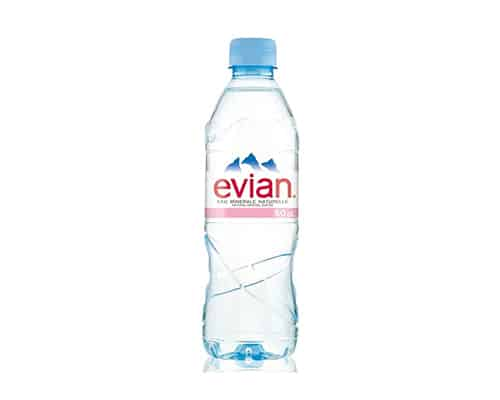 Gambar Evian Natural Mineral Water