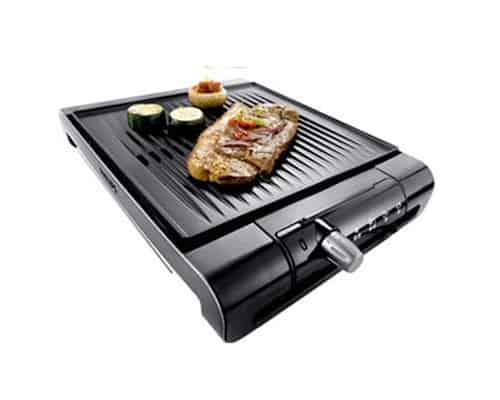 Gambar Philips Table Grill Ribbed Plate HD4417 20