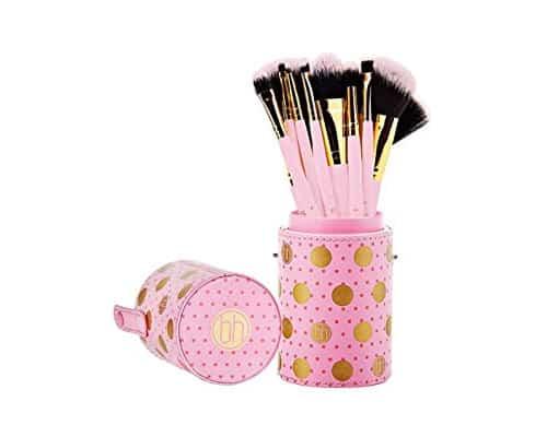 Gambar Makeup Brush Set Terbaik BH Cosmetics Pink-A-Dot