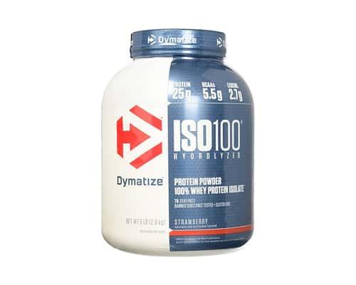 Susu Whey Protein Dymatize Entreprise Dymatize ISO 100 Hydrolized