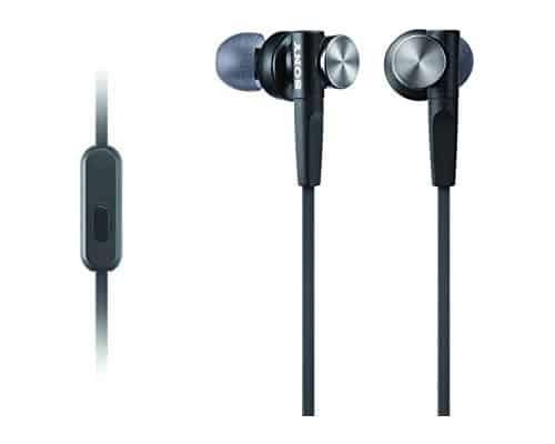 In-Ear Headphone Terbaik Sony In-Ear Headphone MDR-XB50AP Extra Bass