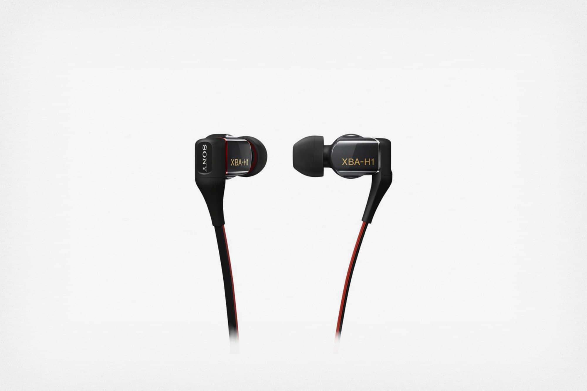 Gambar in-ear headphones yang bagus