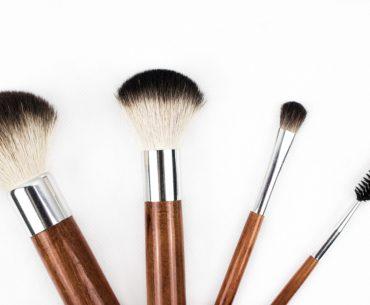 Gambar Ilustrasi Make Up Brush Set