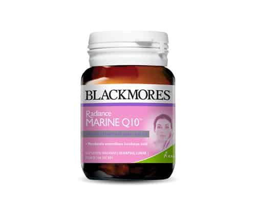 Suplemen untuk Kesehatan Kulit Terbaik Blackmores Radiance Marine Q10
