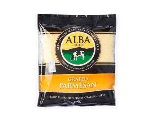 Gambar Alba Cheese Matured Cheese Grated Parmesan - Keju Parmesan Terbaik