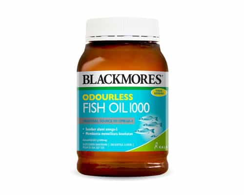 Multivitamin dan Mineral Blackmores Odourless Fish Oil 1000 - Multivitamin dan Mineral Terbaik
