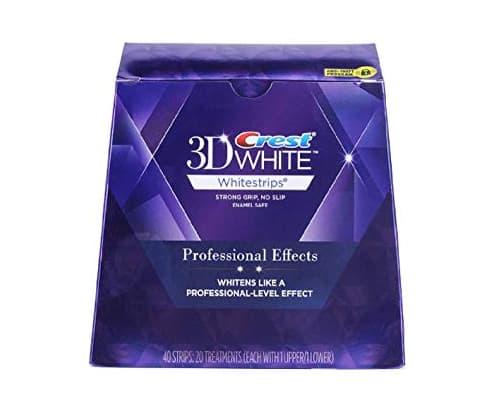 Merk Pemutih Gigi Crest 3D White Luxe Professional Effects Whitestrips