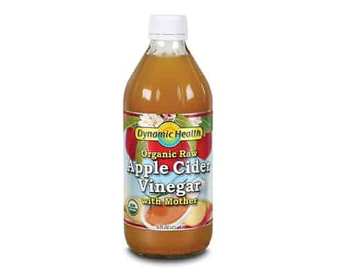 Dynamic Health Apple Cider Vinegar With Mother Certified Organic