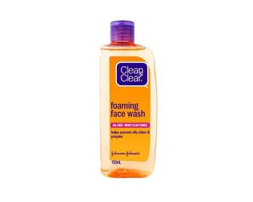 Johnson & Johnson Clean & Clear Foaming Facial Wash