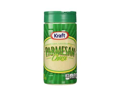 Gambar Keju Parmesan Terbaik Kraft 100% Grated Parmesan Cheese - Keju Parmesan Terbaik