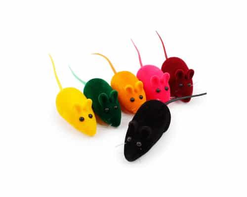 Mainan Kucing Squeaky Mouse Terbaik
