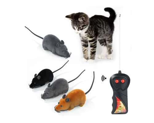 Mainan Kucing Tikus dengan Remote Control