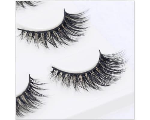 Bulu Mata Palsu Natural Terbaik Mink 3D Handmade Eyelash