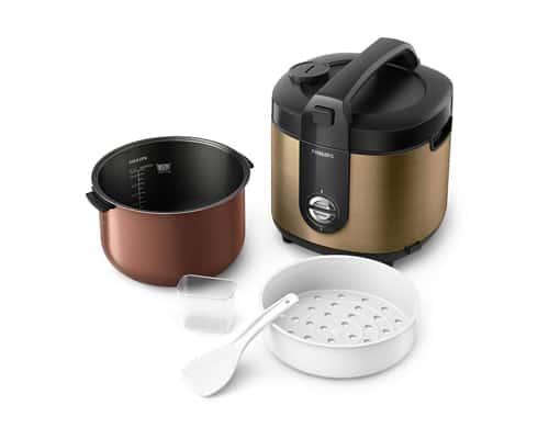 Rice Cooker Terbaik Merk Philips HD3128 Rice Cooker Jar Pro Ceramic