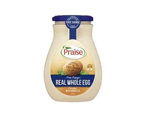 Mayones Terbaik Praise Real Whole Egg Mayonnaise