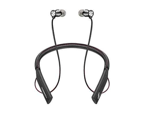 Gambar Earphone Bluetooth Terbaik Merk Sennheiser HD1 In-Ear Wireless Black